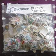 LOT   N2    2000   TIMBRES    TOUS  PAYS   NEUFS  ET  OBLITERES   BELLE  QUALITE - Vrac (min 1000 Timbres)