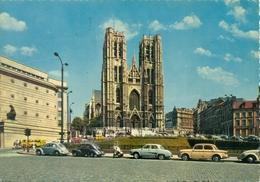 Belgique - Bruxelles - 1972 - Cathédrale Saint Michel - JC 71 - Ecrite, Timbrée, Circulée - 1551 - Monumenti, Edifici