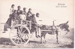 ALTE  AK   PALERMO / Sizilien  - Carro Siciliano - 1910 Ca. - Palermo
