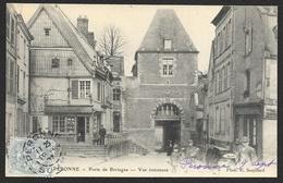 PERONNE Rare Porte De Bretagne Vue Intérieure (Souillard) Somme (80) - Peronne