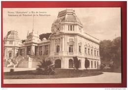 BBRA-24b  Palais Guanabara  Rio De Janeiro, Palais Du Président De La République.   Non Circulé.  A. Zoller. - Rio De Janeiro
