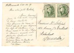TP 167(2) Albert Casqué S/CP C.Welkenraedt 1/1/1920 V.Bruxelles PR4524 - Belgium