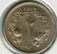 Soudan Sudan 2 Ghirsh 1956 - 1376 Unc KM 33 - Soudan