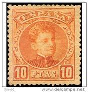 ES255STV-LFT**255TIJSC.CADETE.España. Spain.Espagne.Rey Alfonso Xlll Joven.1901/5.(Ed 255*)con  Charnela. - Sin Clasificación