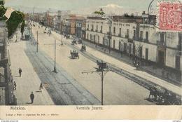 MEXICO AVENIDA JUAREZ MEXIQUE AMERIQUE LATINE - Mexico