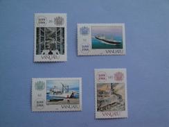 1988 Vanuatu - Yvert 810/3 ** Lloyd Bateaux Ships Scott 485/8 Michel 798/01  SG 507/10 - Vanuatu (1980-...)
