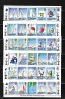 Solomon Islands 1986 America Cup Ships Strip MNH 2 Scans - Solomon Islands (1978-...)