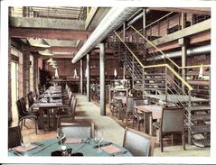"""BRUXELLES (1000) : Restaurant """"La Manufacture"""", Rue Notre-Dame Du Sommeil 12-22. CPSM. - Pubs, Hotels, Restaurants"""