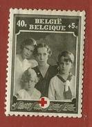 Timbre Belgique  N° 498 - 1918 Croix-Rouge