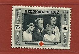 Timbre Belgique  N° 499 - 1918 Croix-Rouge