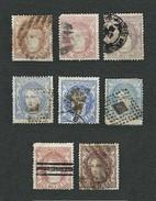 SPAGNA 1870 - Testa Allegorica Della Spagna - Yt:ES 104-109 - 1870-72 Reggenza