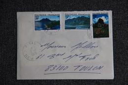 Lettre Envoyée De TAHITI à TOULON - Tahiti