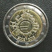 Belgium  -  Belgique  -  Belgien  -  België   2 EURO 2012  10 Years Euro Speciale Uitgave - Commemorative - Belgien