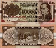PARAGUAY       10,000 Guaraníes       P-224e       2011       UNC  [ 10000 ] - Paraguay