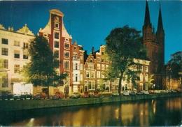 Pays Bas - 1976 - Amsterdam - Singel - Van Gelderen Amsterdam Nº Z 227 - Ecrite, Timbrée, Circulée - 1554 - Amsterdam