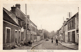 - SAINTE MESME -1940- Grande Rue - - Francia