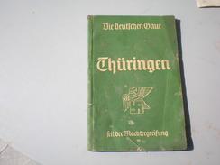 Thuringen Die Deutschen Baue Sans Sertel Nazy Svastika 1941 - Bücher, Zeitschriften, Comics