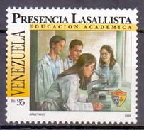 Venezuela 1995 Medical Laboratory Technicians, Chemistry, Microscope (1v) MNH (M-104)