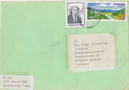 NEPAL 1998 Cover To GERMANY. - Nepal