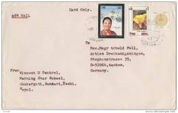 NEPAL 1994 Cover To GERMANY. - Nepal