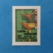 Erinnofilo Chiudilettera Nuovo MNH** - 1973 Europa A Montecatini XIV Mostra Del Francobollo Turistico - - Cinderellas