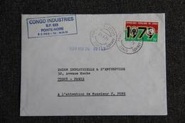 Lettre Envoyée Du CONGO à PARIS - Oblitérés