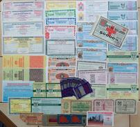 Deutschland, Germany - 50 X LOTTERIELOSE - LOTTOSCHEINE - COLLECTION ! - Lotterielose