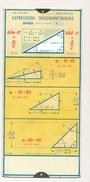 Ancienne Règle à Calcul OMARO - Expressions Trigonométriques - 1935 - Sciences & Technique