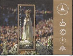 2017 Luxemburg Mi. Bl 37 **MNH   100. Jahrestag Der Marienerscheinung Von Fatima
