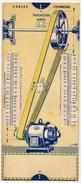 Ancienne Règle à Calcul OMARO - Cables, Courroies, Chaines, Engrenages, Transmissions Simples - Copyright 1935 - Sciences & Technique