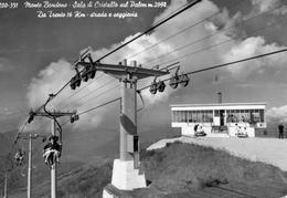 Cart. Monte Bondone - Scala Di Cristallo Sul Palon M. 2098 - Da Trento 16 Km. - Strada E Seggiovia - Trento