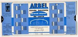 Ancienne Abaque Editions Paul Martial - ARBEL DOUAI - Fonds Elliptiques Et Fonds Bombés à Grand Rayon De Carre - 1957 - Sciences & Technique