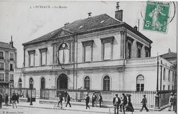 PUTEAUX → La Mairie Avec De Nombreux Passants ►ca.1915◄ - Puteaux