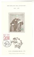 UPU CONGRESS DAY BRASILIANA Souvenir Sheet (Green Inscription) ROWLAND HILL CENTENARY  BRAZIL  Stamps - Brazil