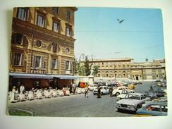 ROMA-- PIAZZA DEL POPOLO CAFFE' ROSATI-   AUTO CAR  NON  VIAGGIATA COME DA FOTO - Caffé