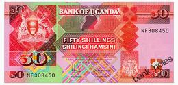 UGANDA 50 SHILLINGS 1998 Pick 30c Unc - Uganda