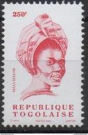 Togo 2004 - Mi. 3362 Série Courante BELLA BELLOW 250F MNH** - Togo (1960-...)