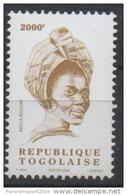 Togo 2004 - Mi. 3367 Série Courante BELLA BELLOW 2000F MNH** - Togo (1960-...)