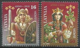 LETTLAND 1995 Mi-Nr. 414/15 ** MNH - Latvia