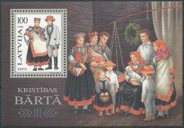 LETTLAND 1996 Mi-Nr. Block 7 ** MNH - Latvia