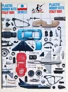 Catalogue ESCI 1981 Modélisme Maquette Avion Voiture Soldat Miltaria WWII Aircraft Plastic Hobby Kits Italy - Catalogues