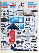 Catalogue ESCI 1981 Modélisme Maquette Avion Voiture Soldat Miltaria WWII Aircraft Plastic Hobby Kits Italy - Francia