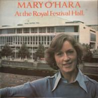 * LP *  MARY O'HARA - AT THE ROYAL FESTIVAL HALL (England 1977 EX!!) - Country En Folk