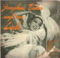 * LP *  JOSEPHINE BAKER SINGT VON LIEBE (Germany  196?) - Vinylplaten