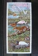 Brésil - Yvert N° 1668A Tryptique Neuf ** (MNH) - Faune Et Flore - Brazil