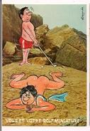 """Alexandre : """" Vous Et Votre Golf Miniature """" - Série """"Plage"""" 825/1 - Ed Lyna - - Alexandre"""