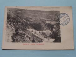 Défilé De L'Iskar à LAKATNIK - Stamp Anno 1913 ( Zie Foto Voor Details ) !! - Bulgarie