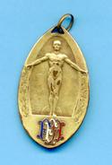 Médaille Championnats Internationaux 1922: Saut En Longueur. - Athlétisme