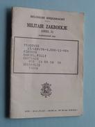 Militair ZAKBOEKJE + I.D. + Allerlei Dokumenten ( éénzelfde Persoon / Pieters ) Anno 1976 ( Détail Zie / Voir Photo ) ! - Documents
