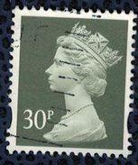 Royaume Uni 1995 Oblitéré Used Queen Reine Elizabeth II Série Machin Olive Gris SU - Used Stamps